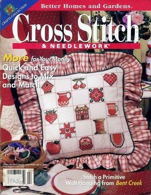 紅蘿蔔工作坊/美國書=Cross Stitch~刺繡.十字繡手工藝~~1999年