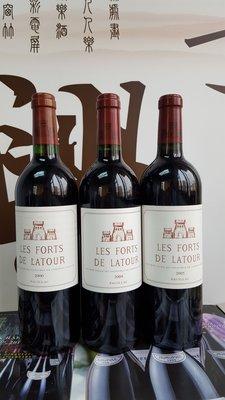 Les Forts De Latour 2004, 750ml, 1支拍賣