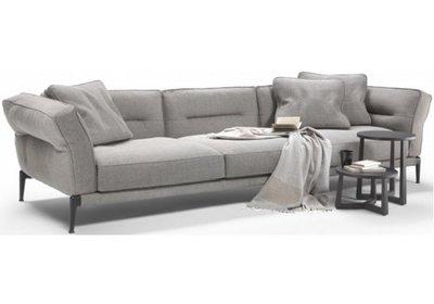 [米蘭諾家具]訂製款 複刻Flexform Adda 經典沙發 現代沙發 休閒風 設計師款 台灣製造