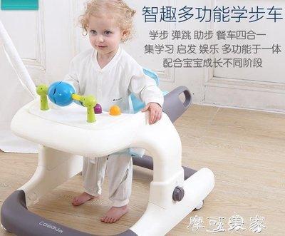哆啦本鋪 學步車嬰幼兒童多功能防側翻寶寶671218個月女男小孩手推可坐 D655