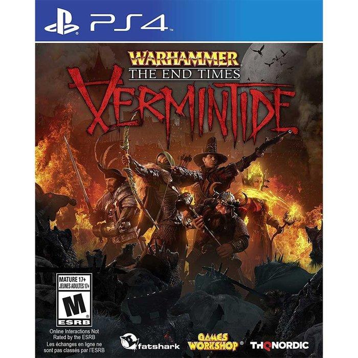 【一起玩】PS4 戰鎚:終結時刻 - Vermintide 英文美版 Warhammer:End Times