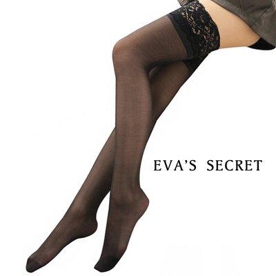 夏娃的祕密 蕾絲大腿襪 黑絲襪的誘惑