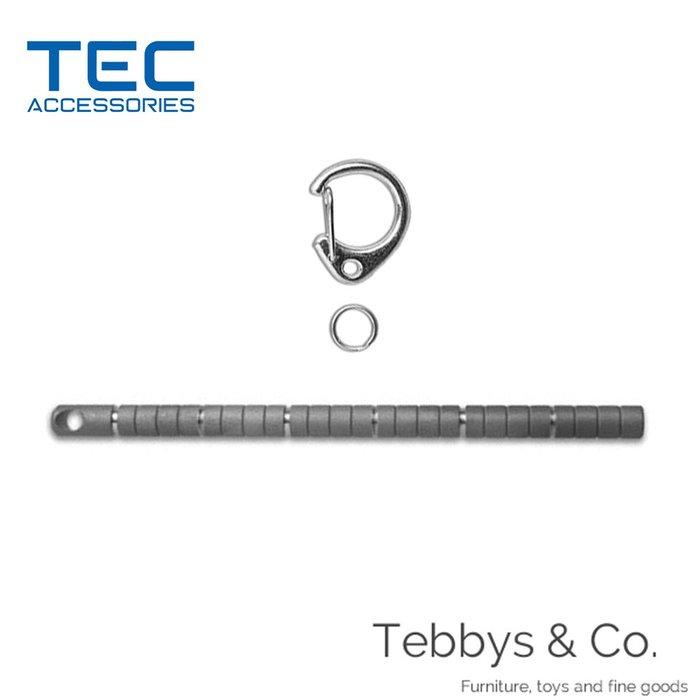 {Tebbys&Co.}美國 TEC Accessories 鈦合金圓柱尺