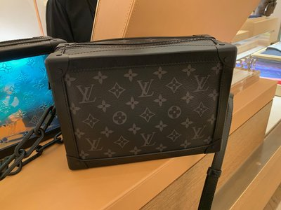 LV SOFT TRUNK BIG SIZE black colour Unisex bag (men/women)