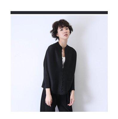 殷郊太子褶衣館0912三一生風格褶皺排扣小外套