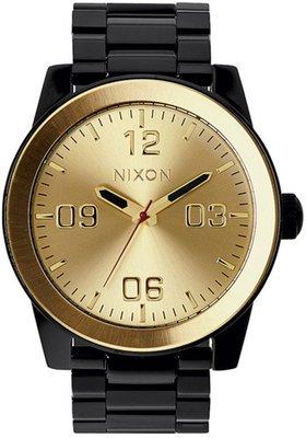 士林手錶專家-NIXON THE CORPORAL SS 曠野風潮腕錶 A346-010