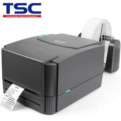 標籤機TSC ttp-244/342pro條碼打印機不干膠熱敏紙服裝吊牌水洗嘜二維碼固定資產亞銀紙面單打標機熱轉印碳帶標簽機