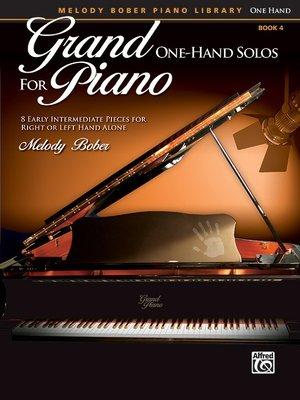 【599免運費】Grand One-Hand Solos for Piano, 4  Alfred 00-40157