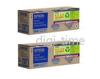 【全新含稅,二件裝】原廠碳粉匣 EPSON S050441 高容量優惠黑色碳粉匣 適用M2010D/DN