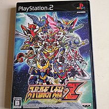A72-原裝PS2 機戰Z Super Robot Wars Z