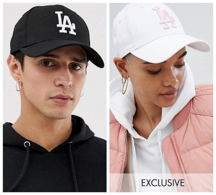 【BJ.GO】New Era 9forty LA adjustable cap 經典大聯盟LA Logo 棒球帽 可調式