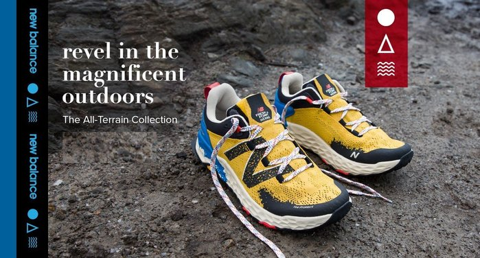南◇2019 11月 New Balance Trail Hierro V5 MTHIERY5 黃色藍色 健走 慢跑越野