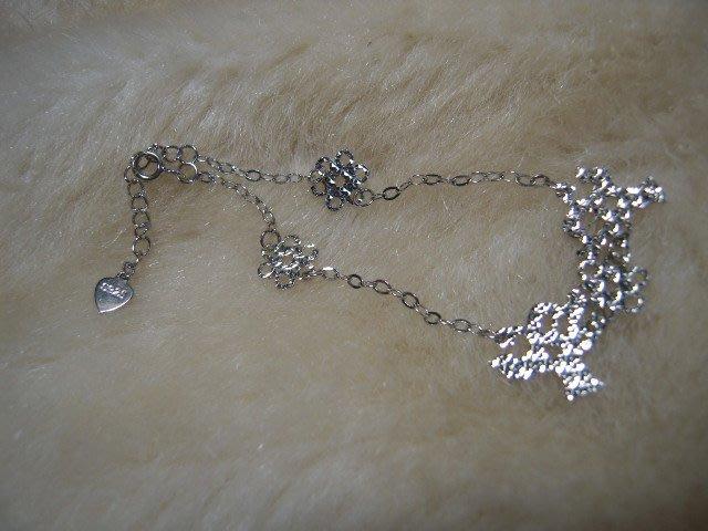 ※水晶玫瑰※ 925純銀手鏈(RD121)