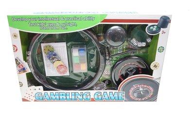 佳佳玩具 ------ 賭具套裝 百家樂玩具組 俄羅斯輪盤 派對 過年 桌遊【CF140492】