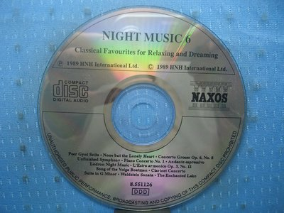 [無殼光碟]BG Night Music 6: Classical Favourites for Relaxing