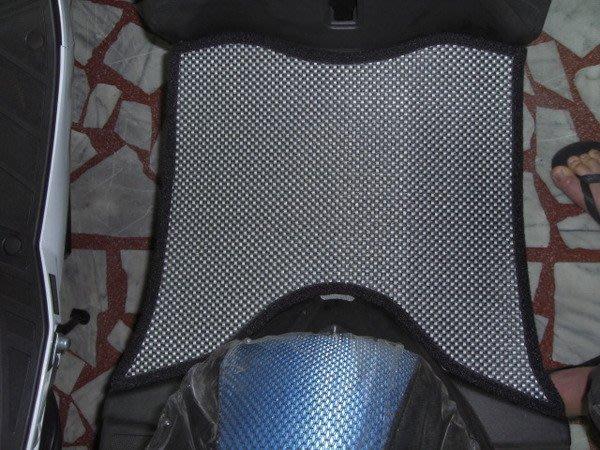 MILK71322目光踏墊-消光灰卡夢雙層止滑減震耐磨機車腳踏墊精品-KYMCO/光陽RACING*雷霆125/150