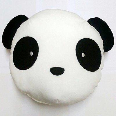 貓熊抱枕 娃娃 中型 抱枕 靠枕 枕頭