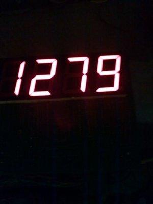夜市彈珠檯四位數主機板分數板