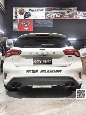 SPY國際 JHG_Exhaust Ford Focus MK4 中尾段排氣管