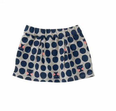 美國童裝Crazy8正品 Polka Dot Owl Skirt 貓頭鷹圓點短裙18~24m.2T...售150元