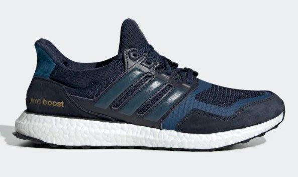 Washoes adidas UltraBOOST S&L 深藍 EF0725 藍白 慢跑鞋 靛藍 男鞋03 台灣公司貨