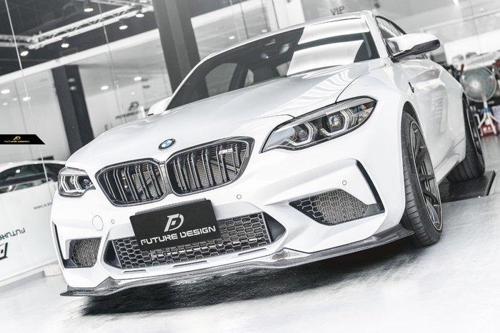 【政銓企業有限公司】BMW F87 M2C competition 專用 FD 高品質 卡夢 前下巴 免費安裝 現貨