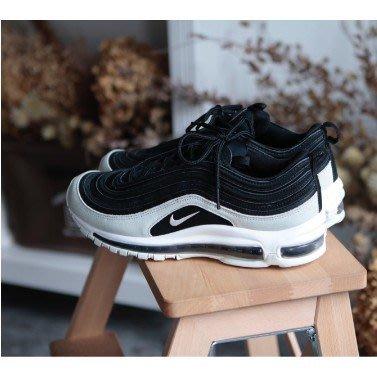 正品 Nike W Air Max 97 PRM Spruce Aura 黑白 殺人鯨配色