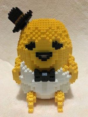 蛋黃哥Lego