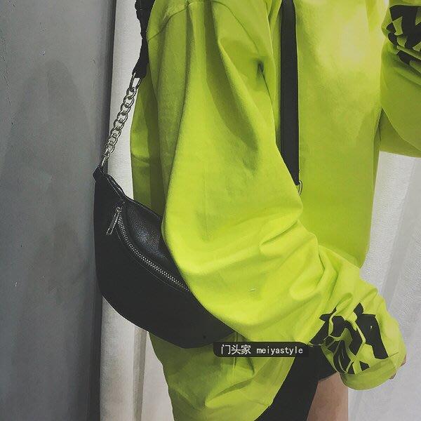【可樂生活】夏天小包包女新品潮時尚百搭 條側背包韓製復古 條腰包胸包-免運費