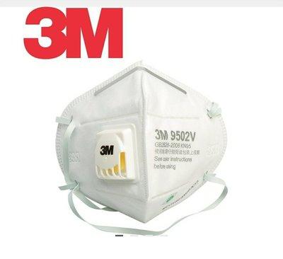 現貨 消毒必備 3M 9502V頭戴式  3M口罩