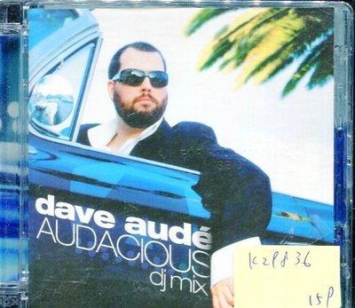 *真音樂* DAVE AUDE AUDACIOUS 二手 K29836