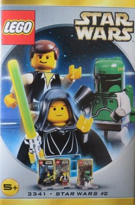 全新樂高 星球大戰 LEGO Star Wars 3341 Luke/Han/Boba Minifigure Pack