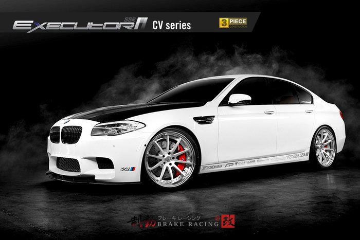 SSR EXECUTOR CV01S 精緻鋁圈 BMW/INFINITI/ 歡迎詢問 / 制動改