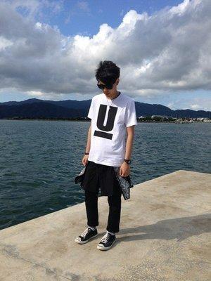 【傑森精品】日本 UNDERCOVER 高橋盾 經典款 大U 短袖T恤 Tee 情侶款 男女可穿 2色 特價