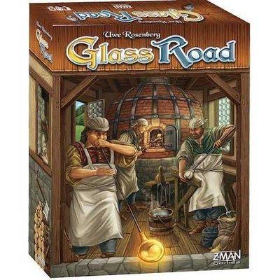 大安殿實體店面 免運 Glass Road 玻璃之路 農家樂作者 英文版 正版益智桌上遊戲