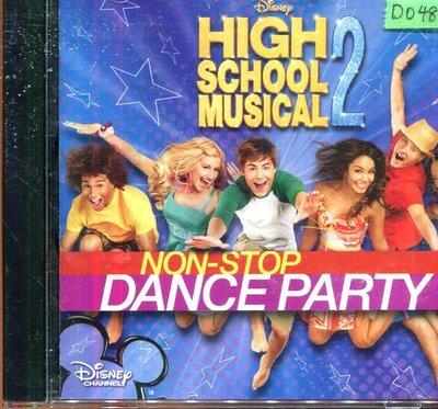 *還有唱片四館* HIGH SCHOOL MUSICAL 2 NON-STOP 二手 D0481(封面底破)