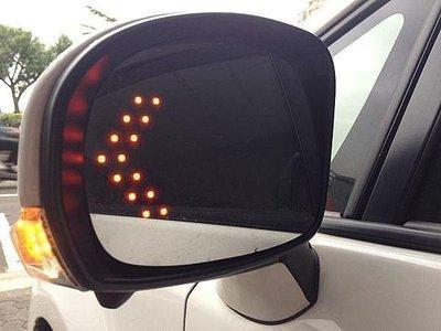 (柚子車舖) 日產 TIIDA LIVINA SUPER SENTRA 鉻鏡LED方向燈後視鏡片 (專用卡榫式)