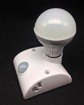 紅外線人體感應燈(B型配線型)+50元加購 7W LED黃光全周光燈泡x1微利促銷衝評價.隨時調價.請把握