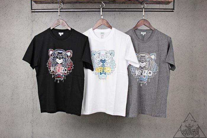 【HYDRA】Kenzo 20SS Tiger T-shirt 老虎 短T 黑 白 灰【5TS0504YA1】