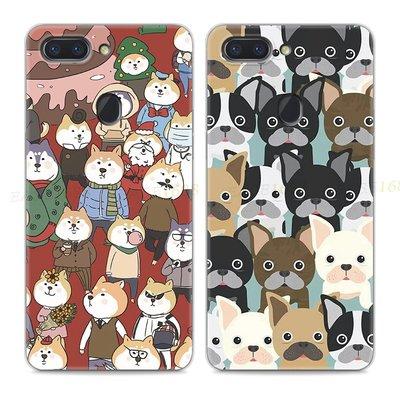 【海豚】超萌柴犬oppor15手機殼夢境版少女r17星云版搞怪x狗狗圖案k1可愛
