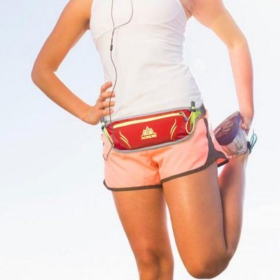 戶外腰帶手機腰包 運動腰包男透氣跑步腰包女馬拉松貼身防盜包收納包臀包胸前包