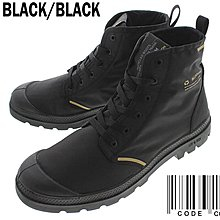 =CodE= PALLADIUM PAMPA LITE RCYCL WP 再生防水輕量軍靴(黑) 76656-001 男