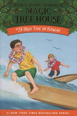 蒼穹書齋: 九成新 泛黃破皮 有磨折損\High Tide in Hawaii\Random House\滿額享優惠