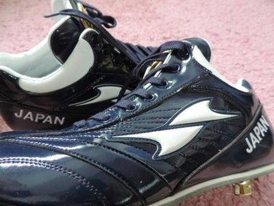 貳拾肆棒球-日本帶回世界棒球經典賽WBC日本代表日職棒西武獅中村剛也實際支給用SSK釘鞋/27.5 cm/