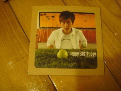 S=五月天 阿信 陳信宏=Happy.Birth.Day=happy birtday=單曲CD