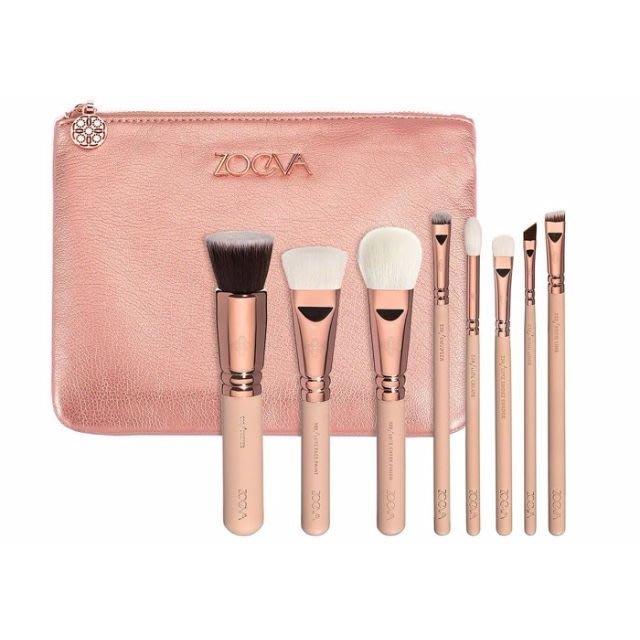 【愛來客 】德國 zoeva ROSE GOLDEN LUXURY SET VOL. 2 奢華限量粉紅玫瑰金套刷組二代