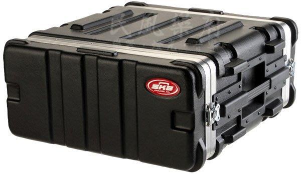 《民風樂府》美國製  SKB Standard 19-4U 纖維機櫃箱 器材箱