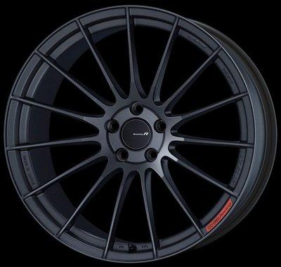 日本 Enkei 鋁圈 Racing Revolution RS05RR 消光黑 18吋 112 114 120 五孔