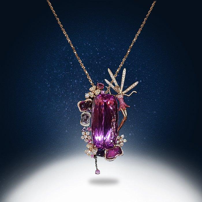 【高品珠寶】首席設計師系列作品-Lucky Wish-夢想與好運的新境界-1月