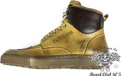 ♛大鬍子俱樂部♛ Helstons® Utah Waxed 法國 復古 原裝 打蠟 小牛皮 哈雷 重機 休閒 車靴